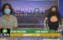 Canyon News Network | September 17th, 2021