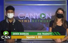 Canyon News Network | September 2nd, 2021