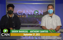 Canyon News Network | September 27th, 2021