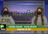 Canyon News Network | September 28th, 2021