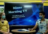 Miner Morning Television, 9-20-21