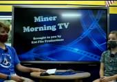 Miner Morning Television, 9-21-21
