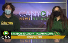 Canyon News Network | October 22nd, 2021