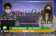 Canyon News Network | October 7th, 2021