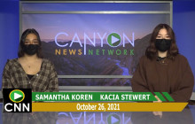 Canyon News Network | October 26th, 2021